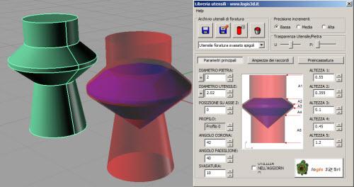DrillTool plugin per utensili parametrici per l