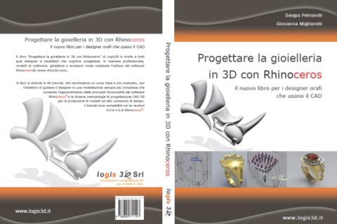 Libro Progettare la gioielleria in 3D con Rhinoceros