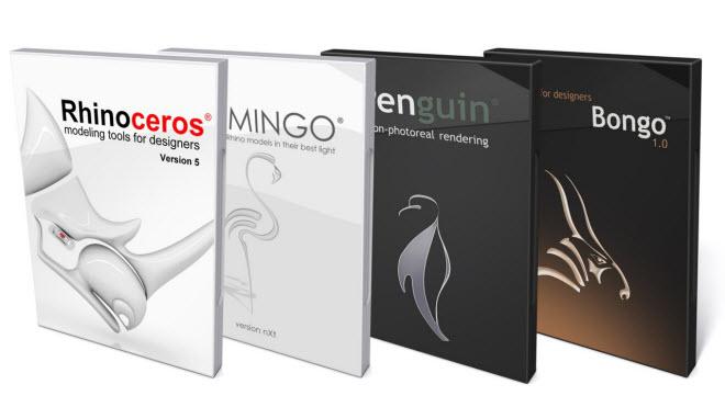 rhino_flamingo_penguin_bongo-660 large