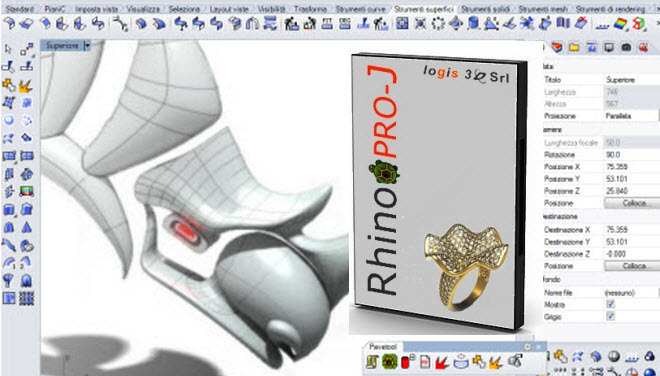 rhinoceros 5.0 per gioielleria 1