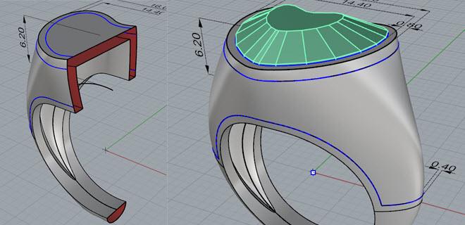Vuotatura automatica dell'anello e preparazione superfici per il pavè