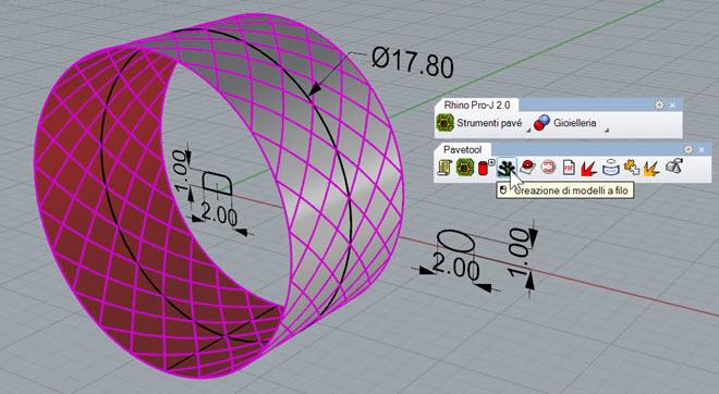 Definizione delle curve di binario e della sezione