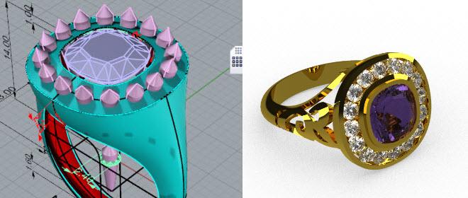 logis3d rhino anello incassatura a binario 05